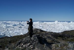 Hike to Ilulissat Icefjord in Greenland with GJ travel