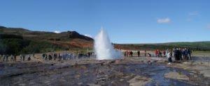 Visit Geysir in Iceland with GJ Travel